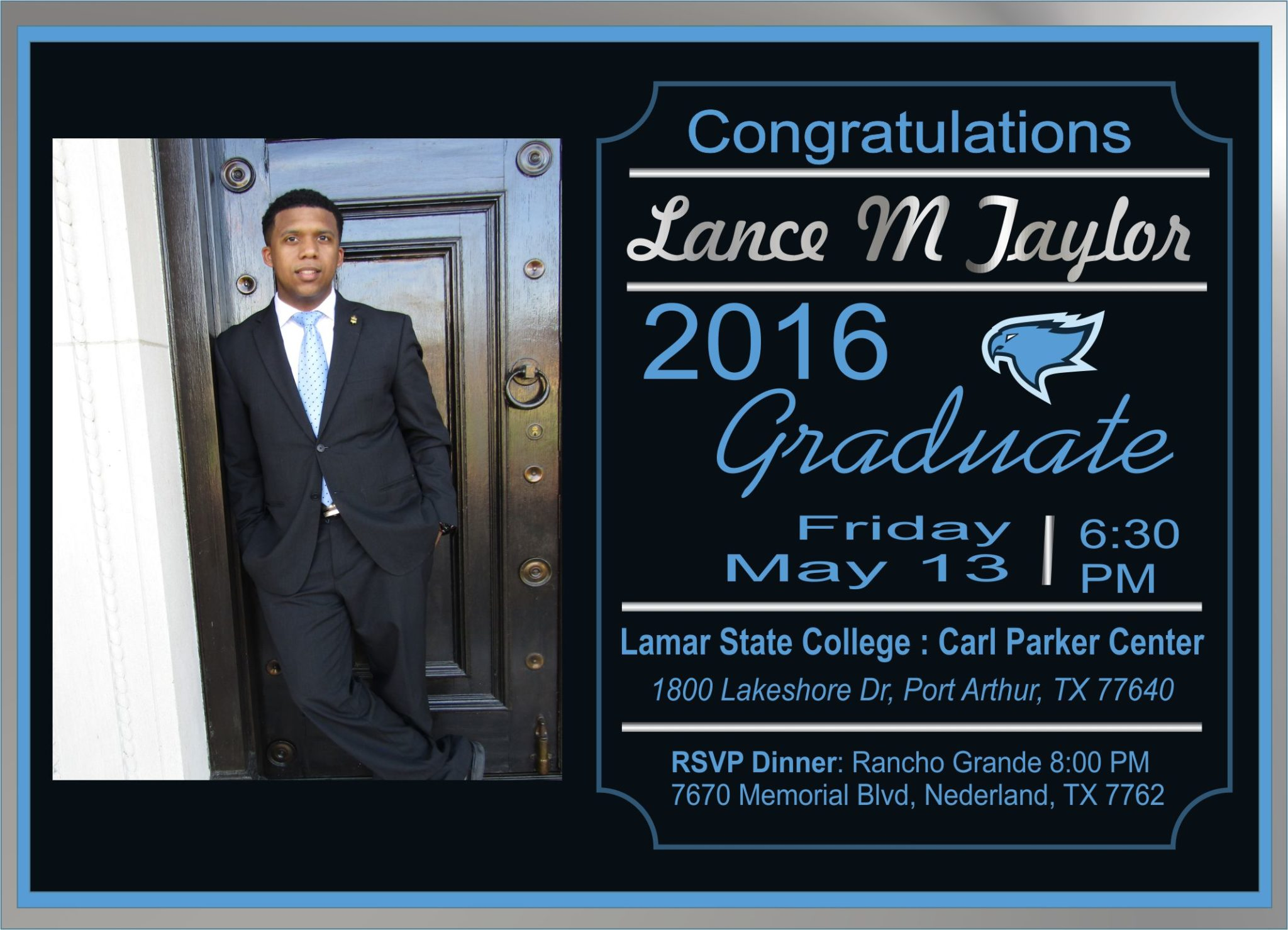 Graduation Invitations.