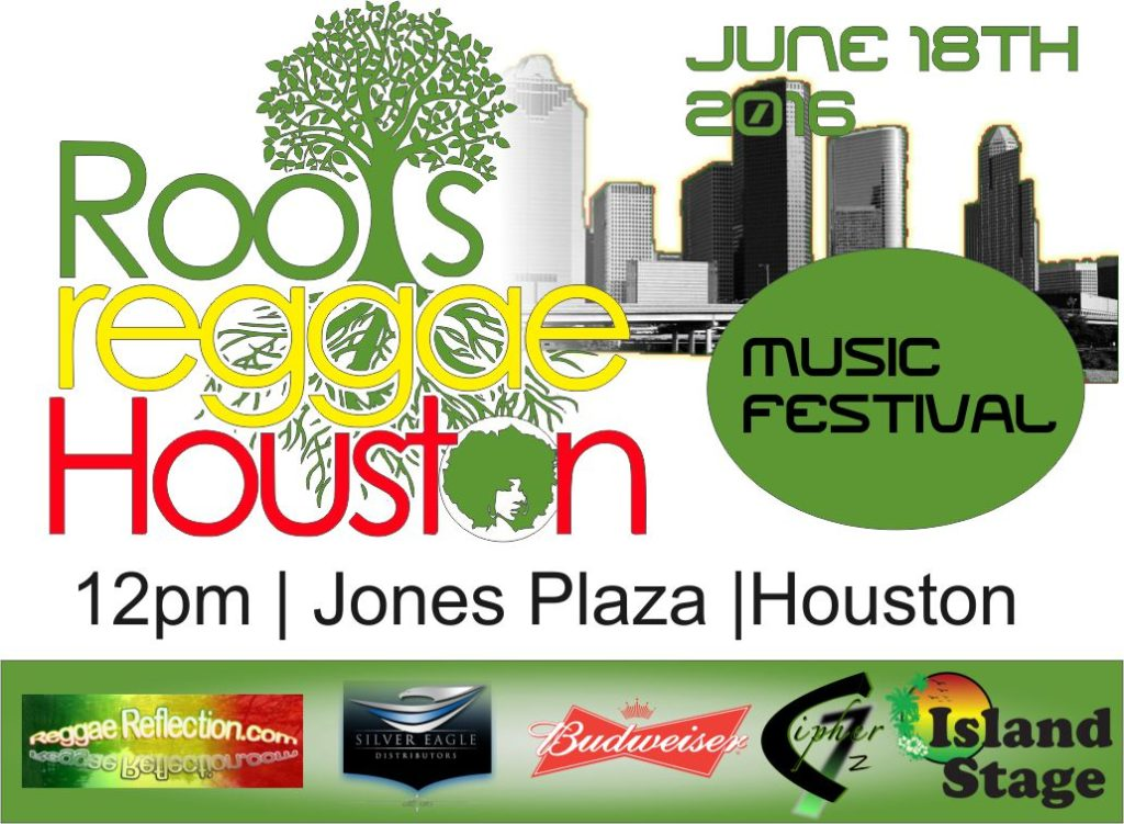Roots Reggae Houston – Magazine Ad